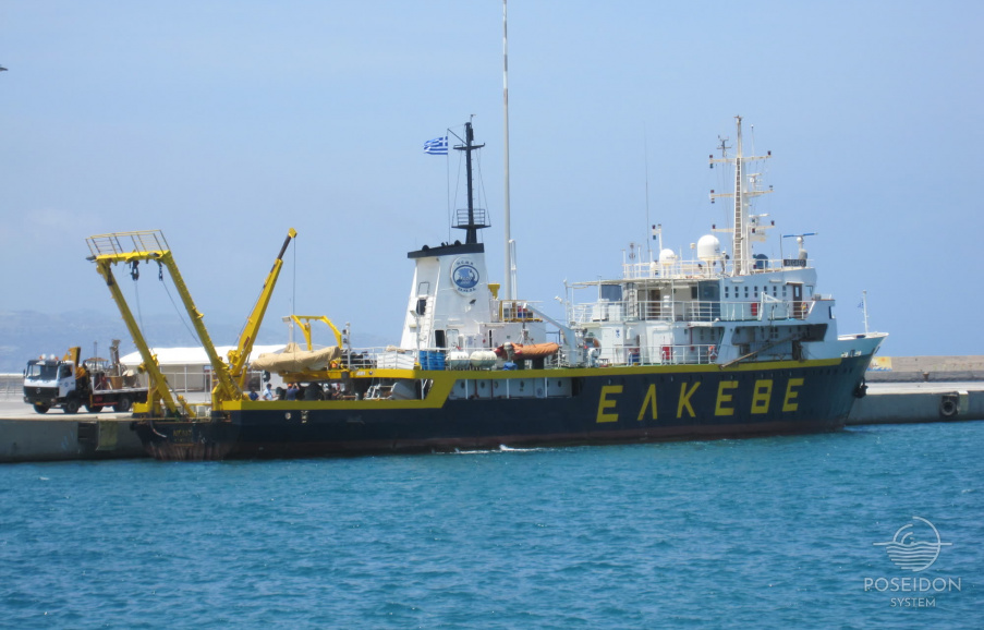 HCMR's Research Vessel AEGAEO