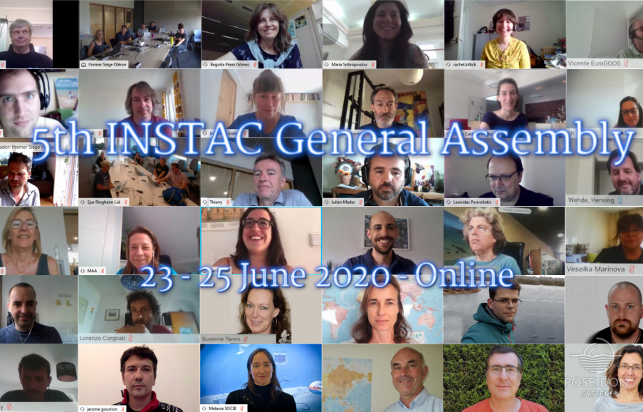 The participants of the INSTAC GA online meeting