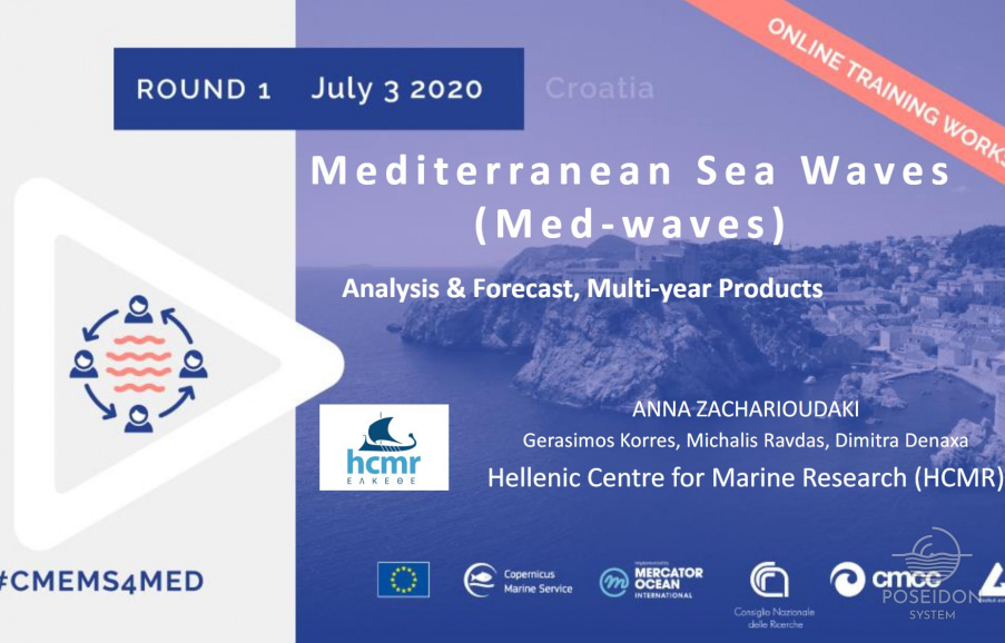Credits for presentation of Waves Analysis and Forecast in Mediterranean Sea