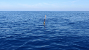 Argo float deployment South of Crete