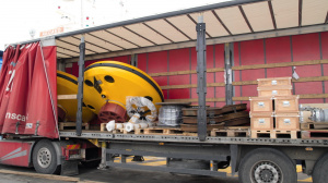 Delivery of the first Wavescan buoys (May 2007)