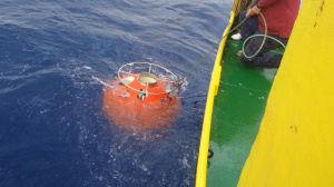 Recovery of the autonomous seabed platform that was deployed close to Pylos buoy (November 2014)