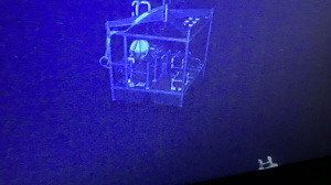 The platform as seen by ROV's camera (May 2018)