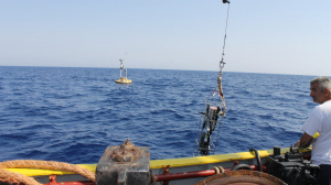 CTD deployment from R/V Philia (Sep. 2016)