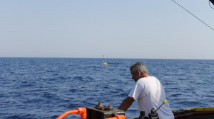 Sampling using R/V Philia at E1-M3A site (Sep. 2016)