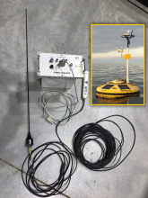 Automatic Identification System on POSEIDON buoy